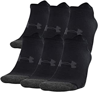 Under Armour Adult Performance Tech No Show Socks (3 and 6 Pack)