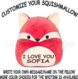 Squishmallow Customized Original Kellytoy Fifi The Red Fox 8