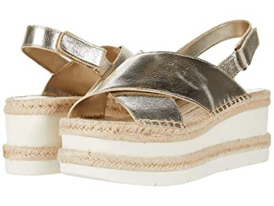Marc Fisher LTD Gandy (Gold Leather) Women
