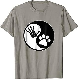 Dog Yin Yang Animal Pets Rescue T-Shirt For Women Men