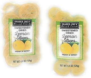 Trader Joe's Dried Fruit Sweetened Dried Lemon Slices ~ pack of 2