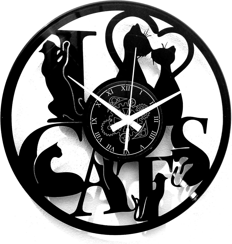 Instant Karma Clocks Vinyl Wall Clock Vintage Gift Max 49% OFF Large discharge sale Handmade Idea