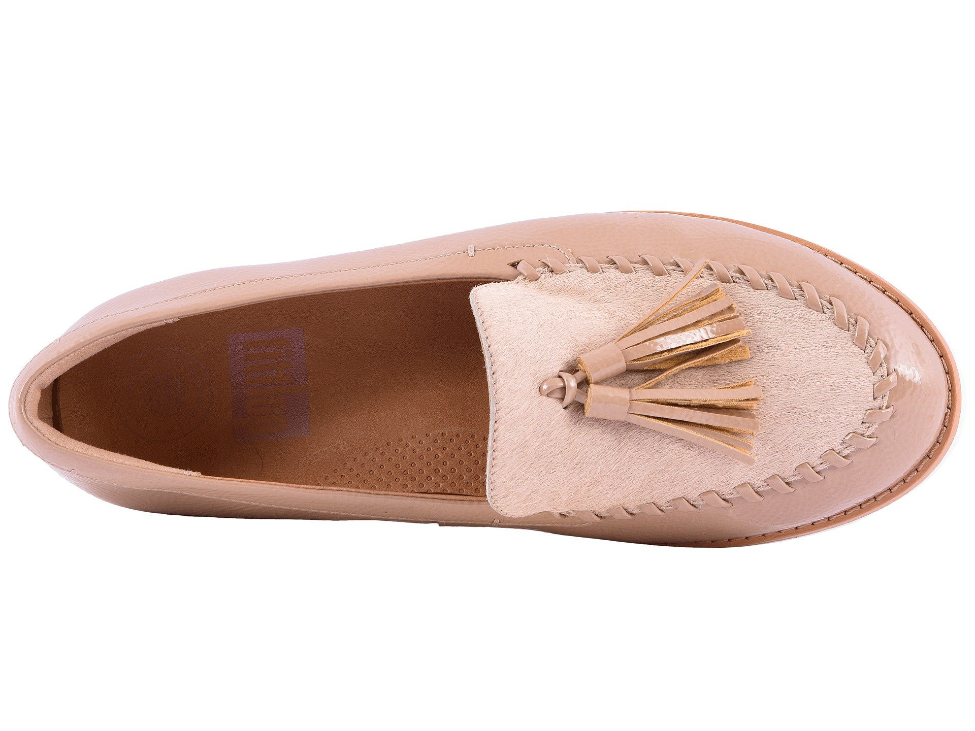 Petrina Pony Taupe Moccasin Fitflop Faux daSqd1