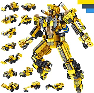 LUKAT STEM ساخت اسباب بازی برای کودکان و نوجوانان ، 573 قطعه اسباب بازی برای پسران 6 ساله ، 25 در 1 مهندسی ساختمان بلوک های ساختمانی یادگیری کودکان و نوجوانان مجموعه اسباب بازی های پسرانه اسباب بازی های سن 5 6 7 8 9 10 11 12 سال قدیمی