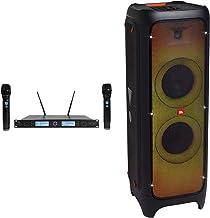 JBL Partybox 1000 Portable Bluetooth LED DJ Party Speaker w/TWS with DJ Pad with Wristband Bundle with Rockville RWM3300UA...