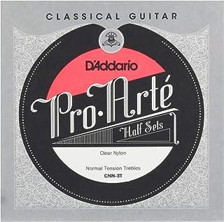 D'Addario CNN-3T Pro-Arté. Medio juego para guitarra clásica de nailon transparente, tensión normal