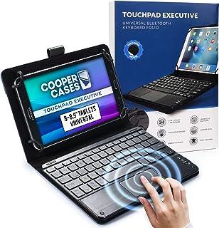 حافظة كوبر تاتش باد إكزكتيف تعمل باللمس [لوحة مفاتيح ماوس بتقنية اللمس المتعدد] لأجهزة الكمبيوتر اللوحية 8-8,9 بوصة | مقاس...