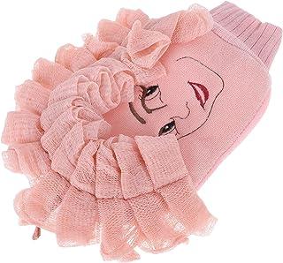 Beaupretty Douche handschoenen peeling voor vrouwen dubbelzijdige peeling handschoenen douche wasser bad handschoen wasser...
