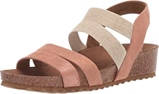 Yellow Box Women's Cerny Sandal, Rosegold, 7.5 M US
