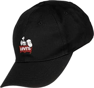 Levi's Kadın Beyzbol Kepi Peanuts Baseball Hat W, Siyah, Tek Ebat (Üretici ölçüsü: OS)