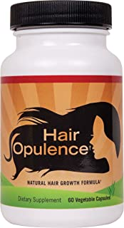 Hair Opulence - Hair Growth Formulation with Biotin for Healthier, Longer, Stronger Hair. Keratin, Collagen, Bamboo & More - Any Hair Type - Veggie Caps