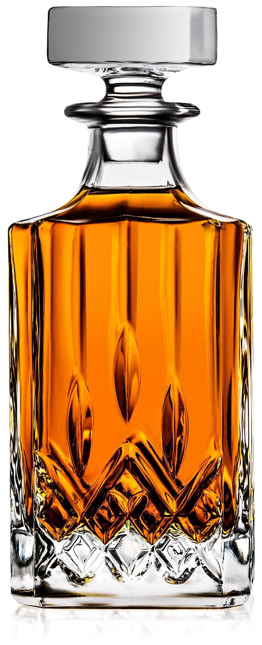 Crystal Decanter Liquor Whiskey Scotch