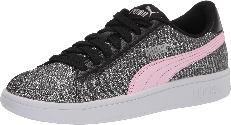 PUMA Unisex-Child Smash online shop 2 Glam Discount mail order Glitz Sneaker