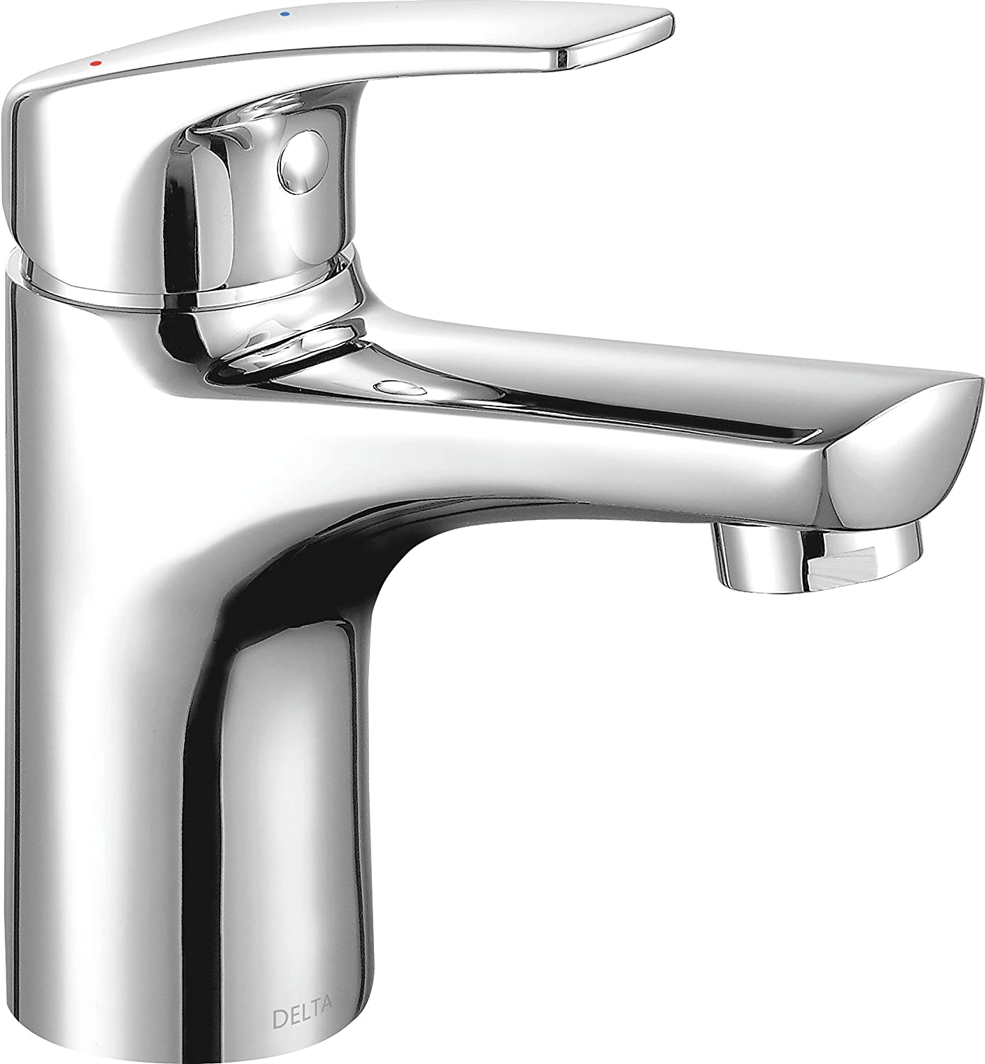 Delta Faucet 534LF-HGM-PP Other Modern Single Handle Lavatory Faucet (Flows at .50 Gpm @ 60 Psi), Chrome