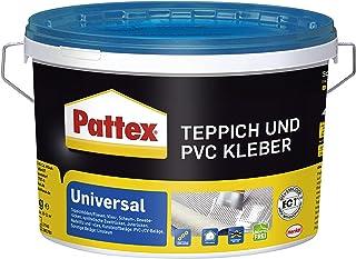 Pattex Universeel tapijt en PVC-lijm, sterke lijm voor pvc-vloeren & tapijten, tapijtlijm geschikt voor vloerverwarming, r...