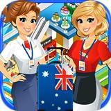 Airport Cash Register Mini Mall & Supermarket Simulator - Kids Fun Cashier Games FREE