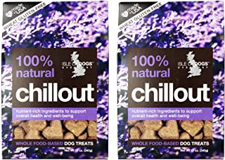 Isle of Dogs 100% Natural Chillout Dog Treats(2Pack)