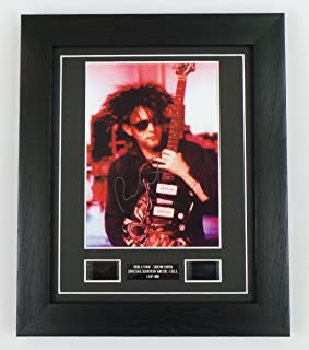 artcandi The Cure Signed + The Cure Film Cells Framed