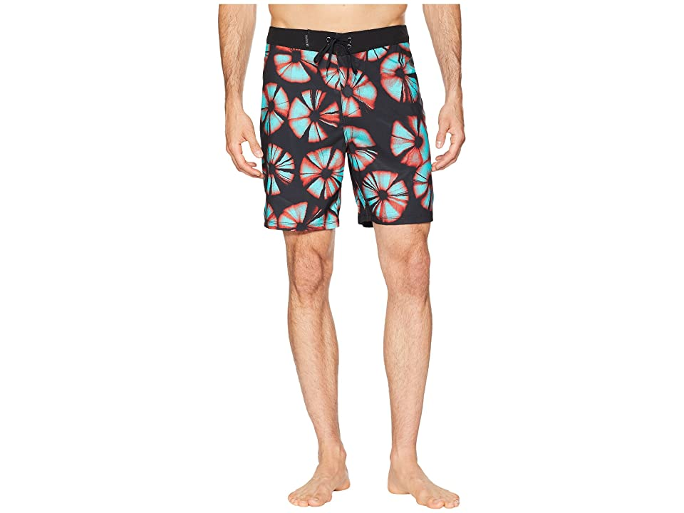 Hurley Mix Tape 18 Boardshorts (Black) Men
