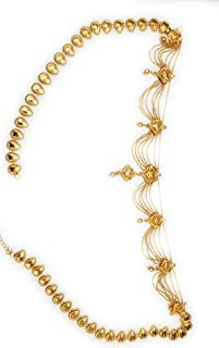 IB Golden Gold Plated Kamar Band Chain for Women