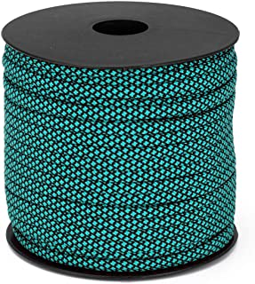 Ikerall Paracord/Parachute Cord 160 ft (50 Meters) spools,100% Nylon Cords Genuine MIL-SPEC Type III Paracord 4 Classic Colors Available