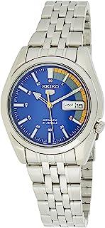 Seiko Men's SNK371K Seiko 5 Automatic Blue Dial Stainless Steel Watch