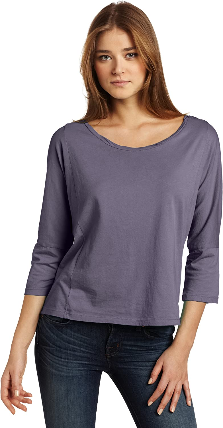 i am BEYOND Women's Twisted Inexpensive Tee depot Neckband