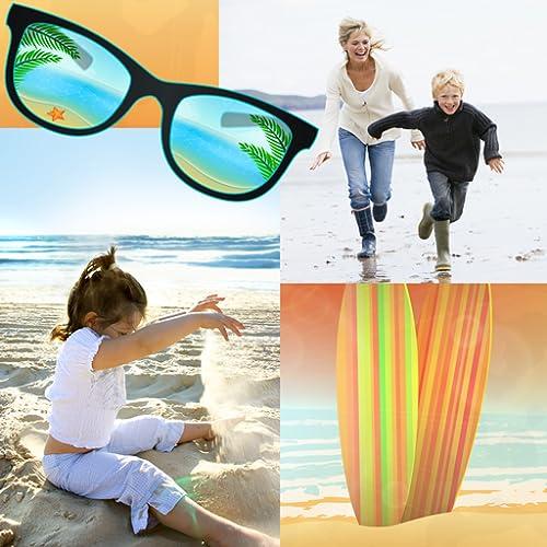 Colagem de fotografia de praia