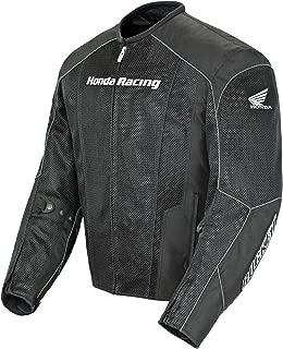 Honda Joe Rocket CBR Men's Mesh Street Racing Motorcycle Jacket - Black/Black/Large