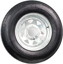 Rainier ST225/75R15D 2540 Lb. 65PSI 15X6 6-5.5 Galvanized Spoke 4.25CB