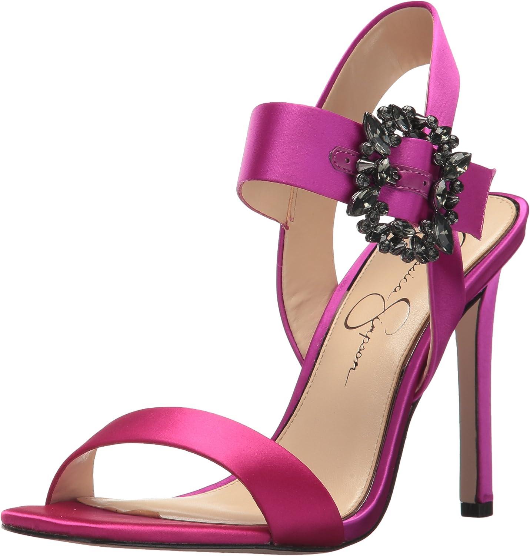 Jessica Simpson Womens Bindy Heeled Sandal