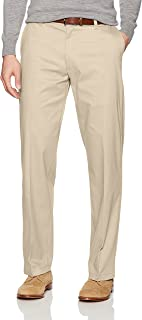 Lee Mens 42831 Total Freedom Stretch Relaxed Fit Flat Front Pant Casual Pants