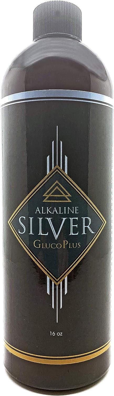 Silver Max 60% OFF GlucoPlus - Colloidal 5 ☆ popular Hydrosol Alkaline in an Base