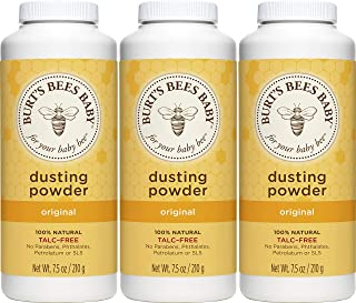 Burt's Bees Baby 100% Natural Dusting Powder, Talc-Free Baby Powder – 7.5..