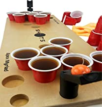 Mini Beer Pong Game or Juice Pong Shots Drinking Games 🏀 with Spare Bonus Pieces Classic Adults Party Sports Tailgating