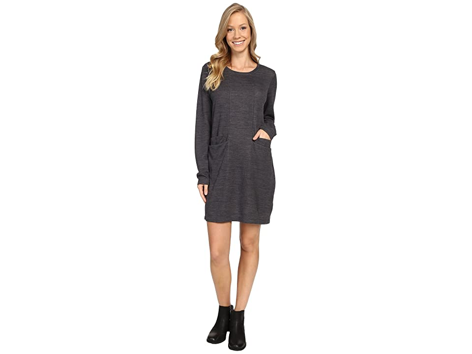 NAU Randygoat Lite Shift Dress (Caviar Heather) Women