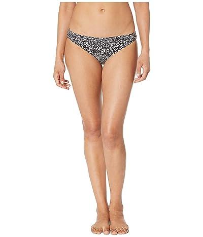 MICHAEL Michael Kors Shadow Floral Classic Bikini Bottoms (Black) Women
