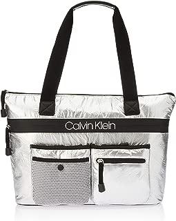 Calvin Klein Women's Tabbie Tote Top-Handle Bags, Grey, One Size