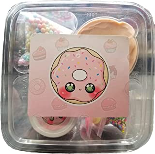 Frosted Donut DIY Clay Slime Kit Creamy Butter Handmade Slime-Hoshimi Slimes