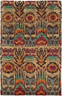 Tommy Bahama Ansley 50902 Abstract Beige/ Multi Area Rug (3'6