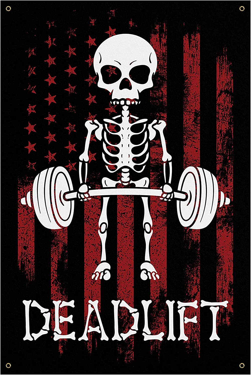 Sale SALE% OFF Deadlift Banner - Home Gym Wall Quote Motivational Art Decor Be super welcome
