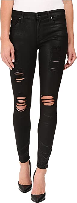 The Ankle Skinny w/ Destroy in Coated Fashion 2