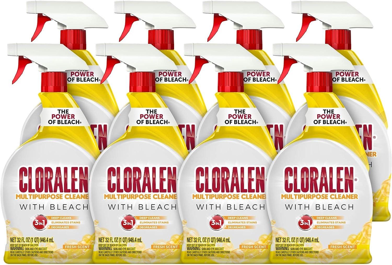 Cloralen Multipurpose Cleaner Spray Fresh oz. Scent Max 41% OFF fl. 1 year warranty 32 Pa