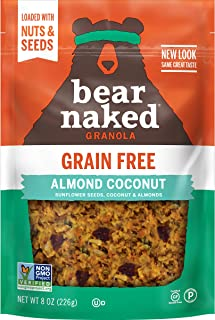 Sponsored Ad - Bear Naked, Almond Coconut, Grain Free, Granola, Paleo, Gluten-Free, Non-GMO Project Verified, Kosher Dairy...