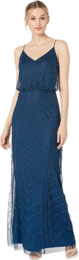 Gown Womens Dresses Free Shipping Clothing Zappos