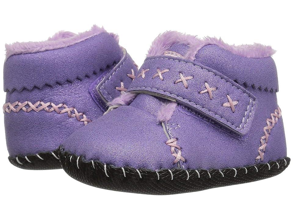 pediped Rosa Originals (Infant) (Lavender Shimmer) Girl