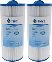 Tier1 Replacement for Jacuzzi J300 6541-383 Spa Filter for J300 Series Jacuzzis, 2 Pack