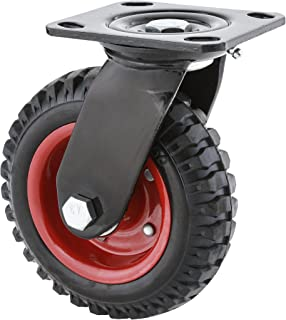 Steelex D2580 Swivel Heavy Duty Industrial Wheel, 6-1/4-Inch