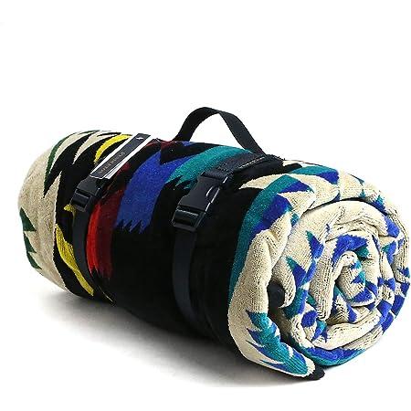 [ペンドルトン] PENDLETON タオル フォー トゥー ブランケット Towels For Two Tucson Black マルチカラー 157cm×177cm XB242 53536 [並行輸入品]