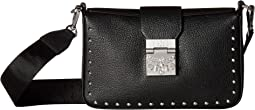 Kasion Studded Outline Park Avenue Crossbody Small